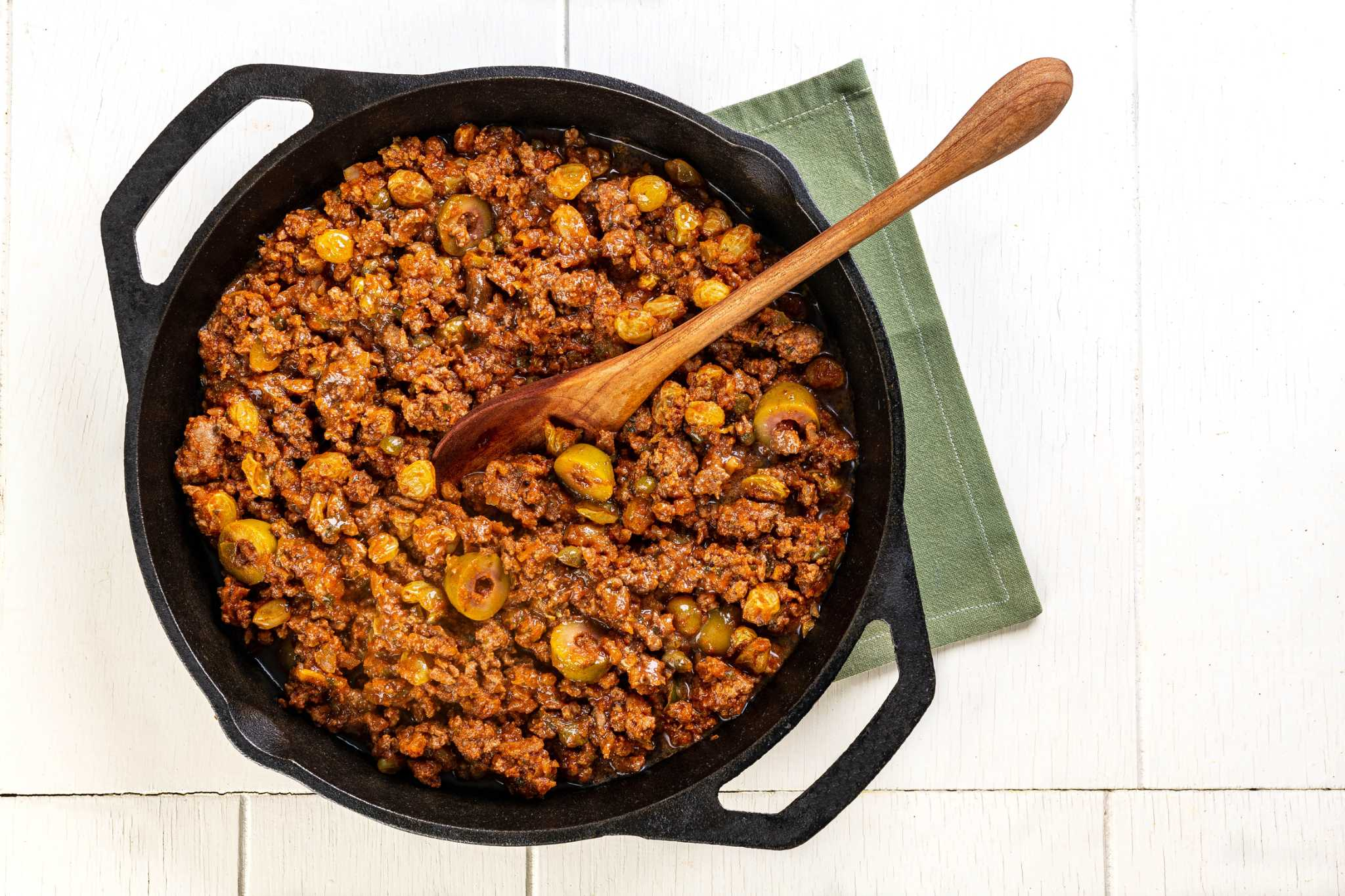 Picadillo is the quick, hearty answer to the question: What's for dinner tonight?