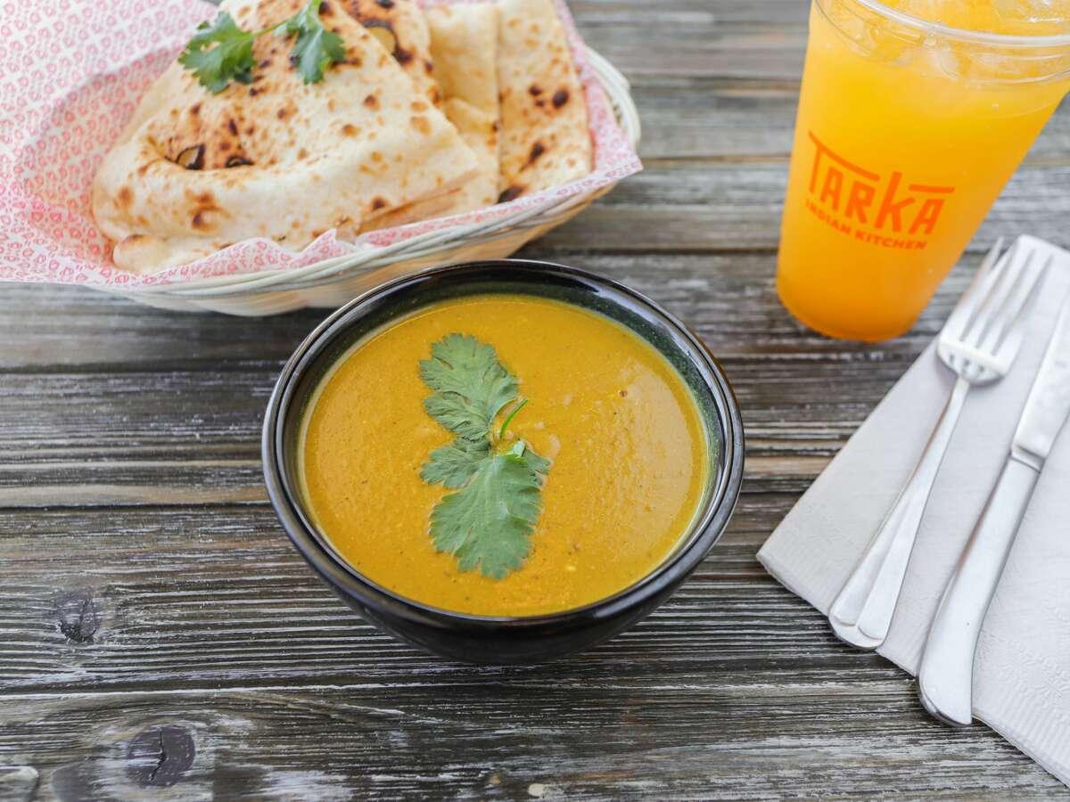 Tarka Indian Kitchen's silky mulligatawny is built on a rich coconut milk base.