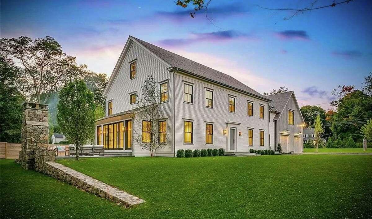 1 Deerfield Road in Darien was the highest priced property sold in Darien in January.