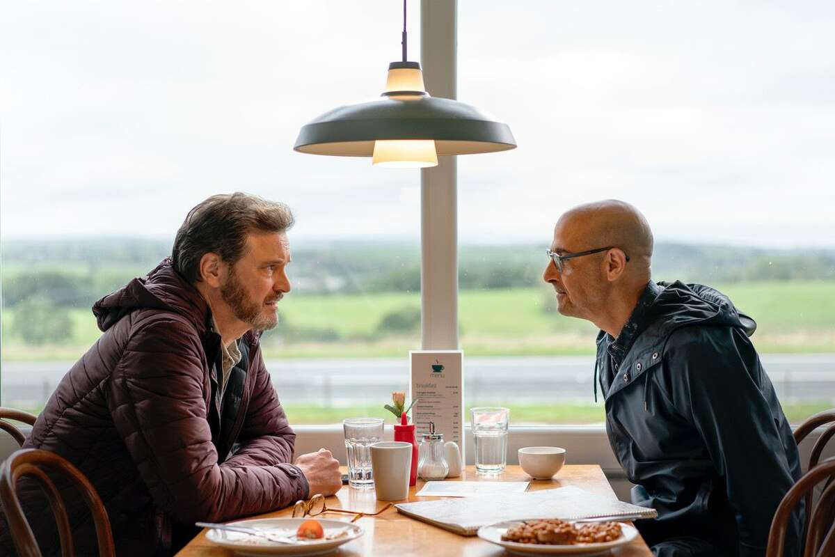 Colin Firth and Stanley Tucci star in