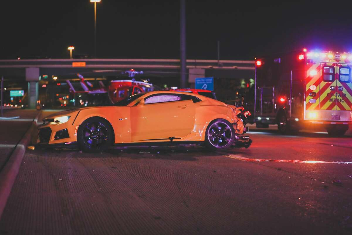 Manslaughter charges have been filed against Andrew Mock in the Feb. 21, 2021, death of at least two bystanders killed after being hit by a crashed vehicle at a northwest Harris County car meet.