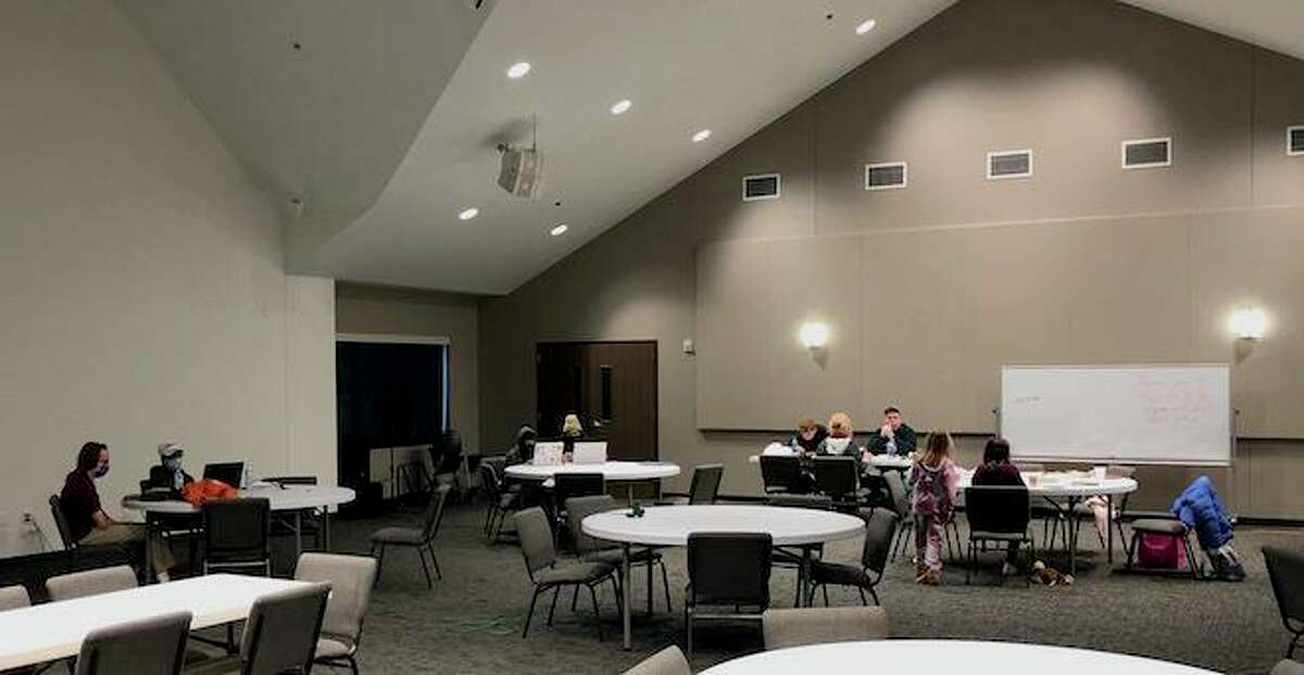 Area residents seeking shelter from freezing temperatures and no electricity beginning Feb. 16, 2021, found a safe haven at Harvest United Methodist Church in Missouri City.