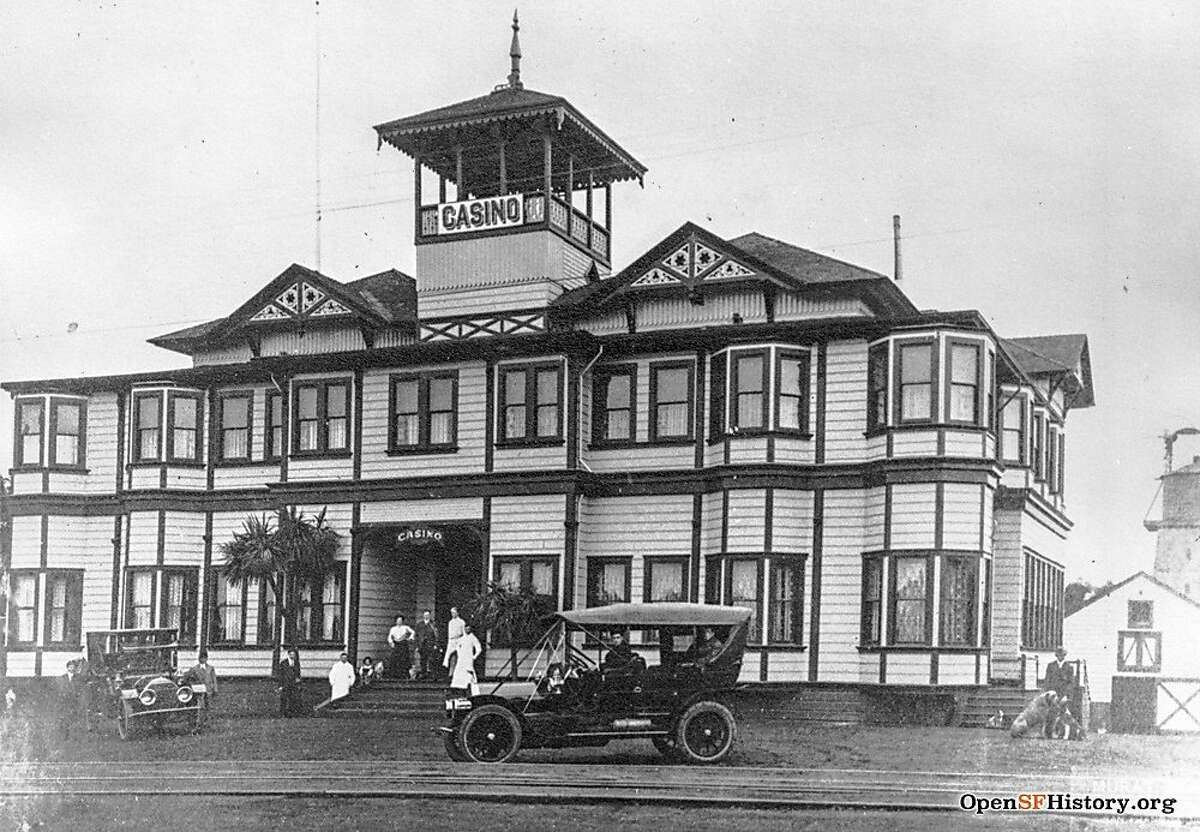 The Golden Gate Park Casino was moved from the park in the 1800s, and became a roadhouse at 24th Avenue and Fulton Street.