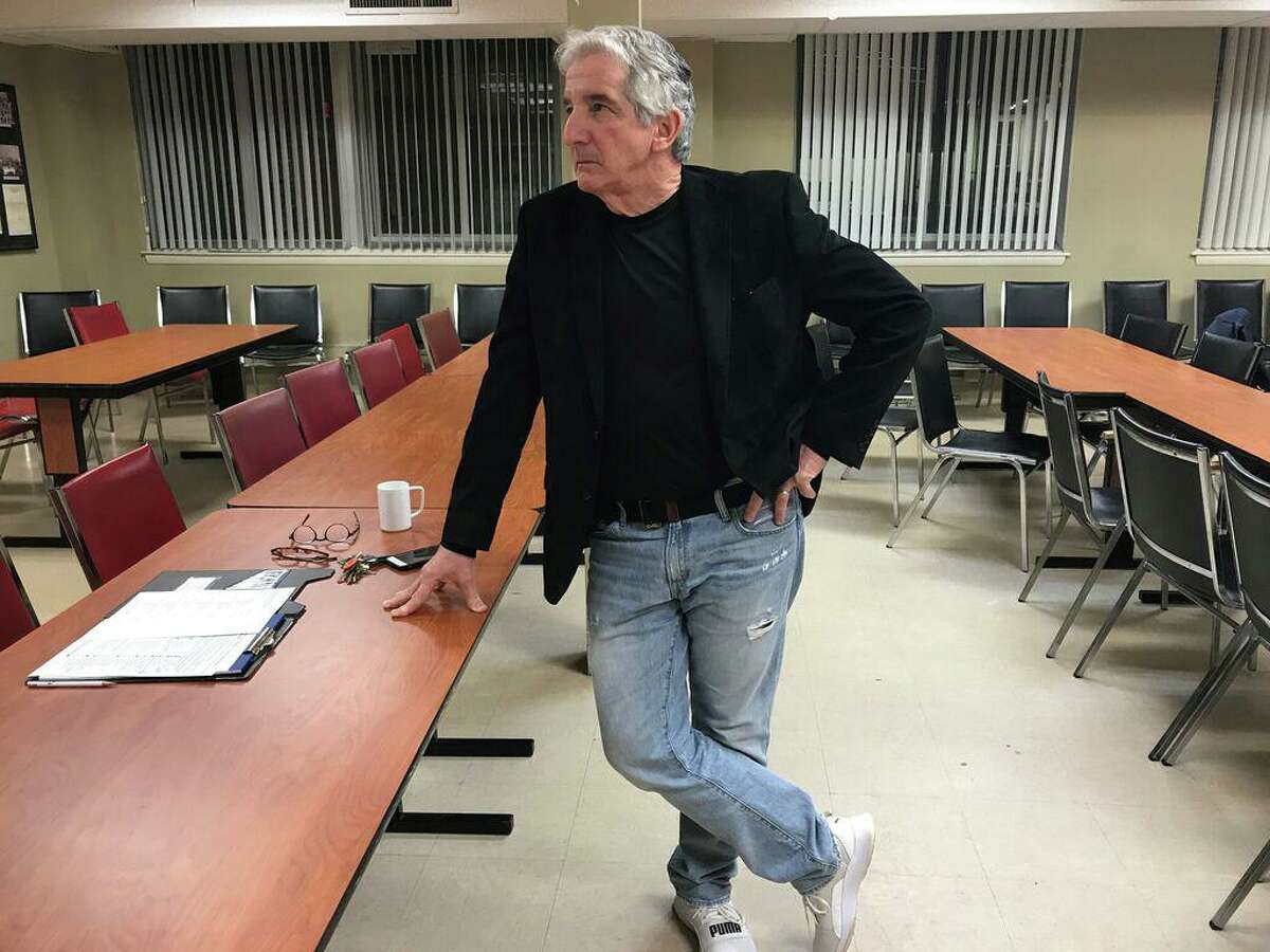 New Haven Federation of Teachers President Dave Cicarella on Feb. 27, 2020.