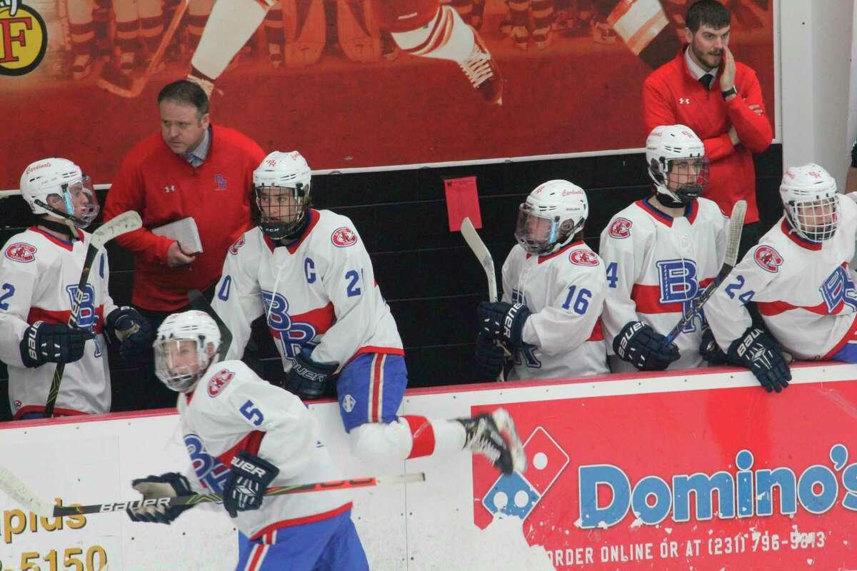 Big Rapids' hockey team will be home twice this week. (Pioneer photo/John Raffel)
