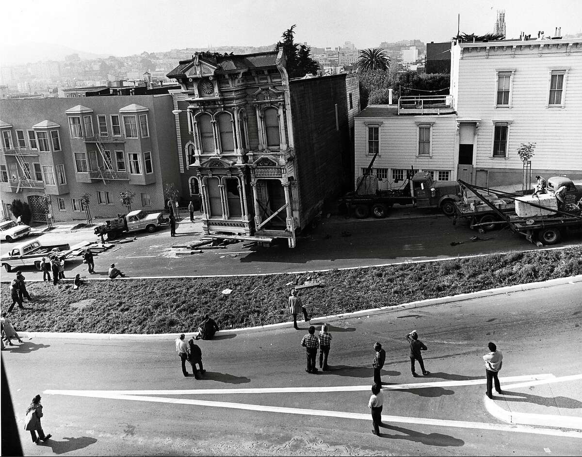 The Vollmer House, one of 12 homes slated for demolition in the 1970s, was saved through the efforts of San Francisco Heritage.