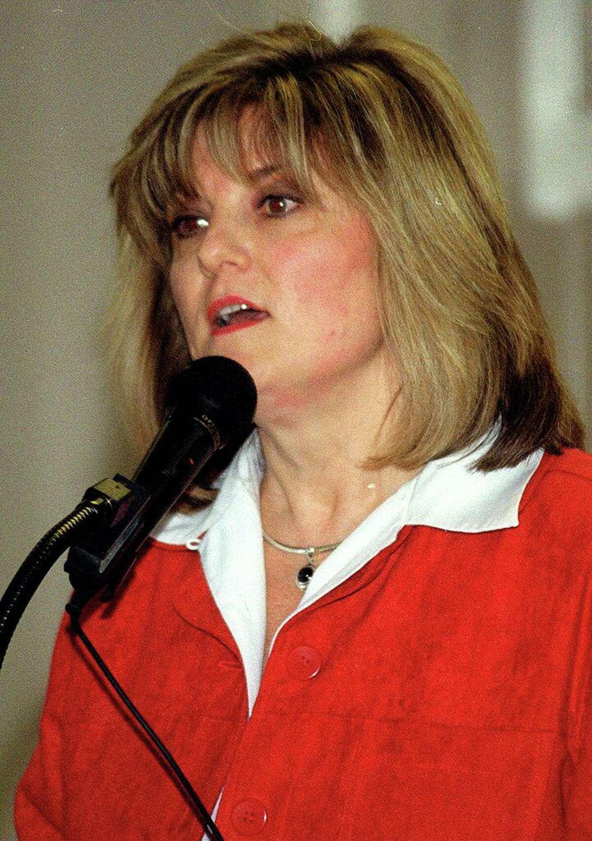 Roxbury First Selectwoman Barbara Henry