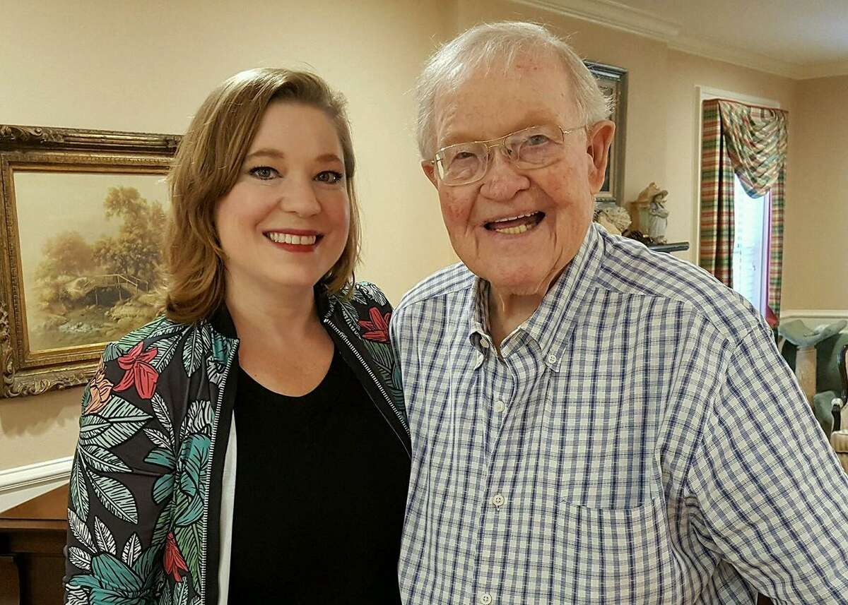 Robin Davidson is a full-time caregiver for her father, Joe, who has congestive heart failure. Worry over whether she'd bring COVID-19 to her father has been on Davidson's mind daily. But recently he was vaccinated -