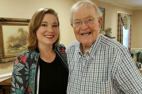"""Robin Davidson is a full-time caregiver for her father, Joe, who has congestive heart failure. Worry over whether she'd bring COVID-19 to her father has been on Davidson's mind daily. But recently he was vaccinated - """"an indescribable relief,"""" she says."""