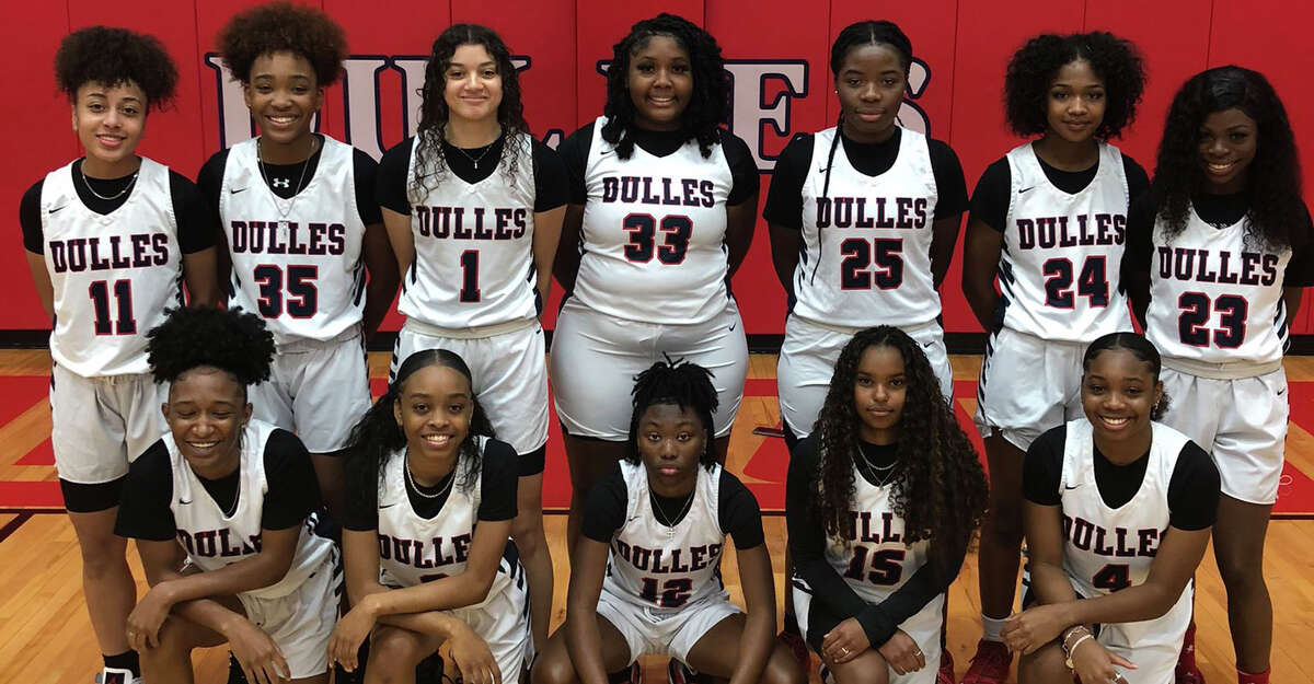 The Dulles girls basketball team defeated Jersey Village 75-68 for its first area championship since 2009. The undefeated Vikings will play Tompkins in the Region III-6A quarterfinals.
