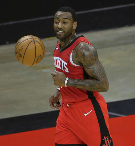 Houston Rockets guard John Wall (1) dribbles during the second quarter of a NBA game against the Chicago Bulls Monday, Feb. 22, 2021, at Toyota Center in Houston. Photo: Yi-Chin Lee/Staff Photographer / © 2021 Houston Chronicle