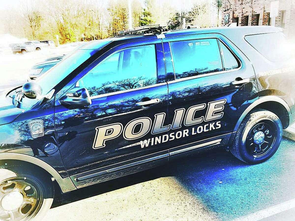 A file photo of a Windsor Locks, Conn., police cruiser.