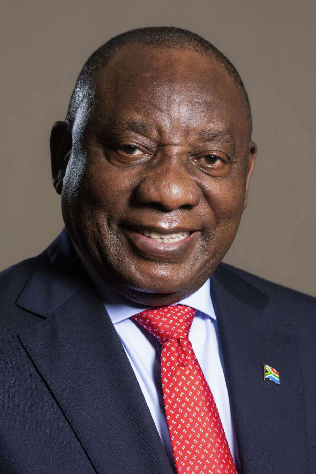 Cyril Ramaphosa, South Africa's president, following a Bloomberg Television interview in Johannesburg on Nov. 18, 2020.