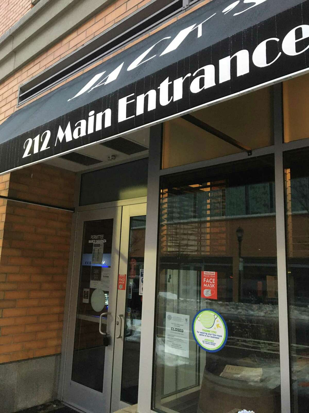New Haven Health Department closure notices have been posted on the doors of Jack's Steakhouse, site of three suspected drug overdoses on Feb. 15, two of which were fatal. The restaurant was ordered closed until it submits and the city approves a corrective action plan, and official said.