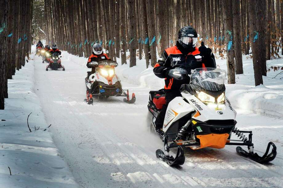 The Michigan Legislative Snowmobile Ridehighlights the snowmobile industry for legislators, including the critical role it plays in regional tourism. (Courtesy photo)