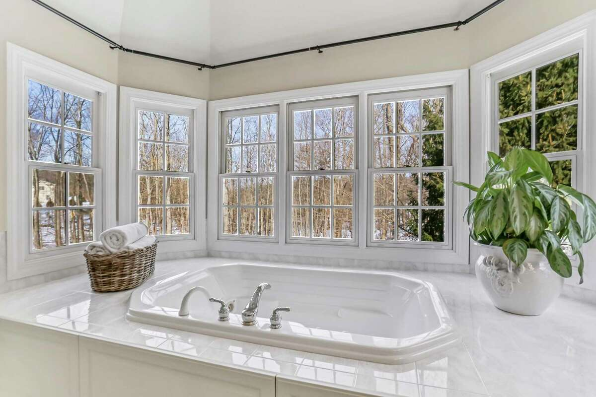 Master bath at 8 Canterbury Lane, Easton.