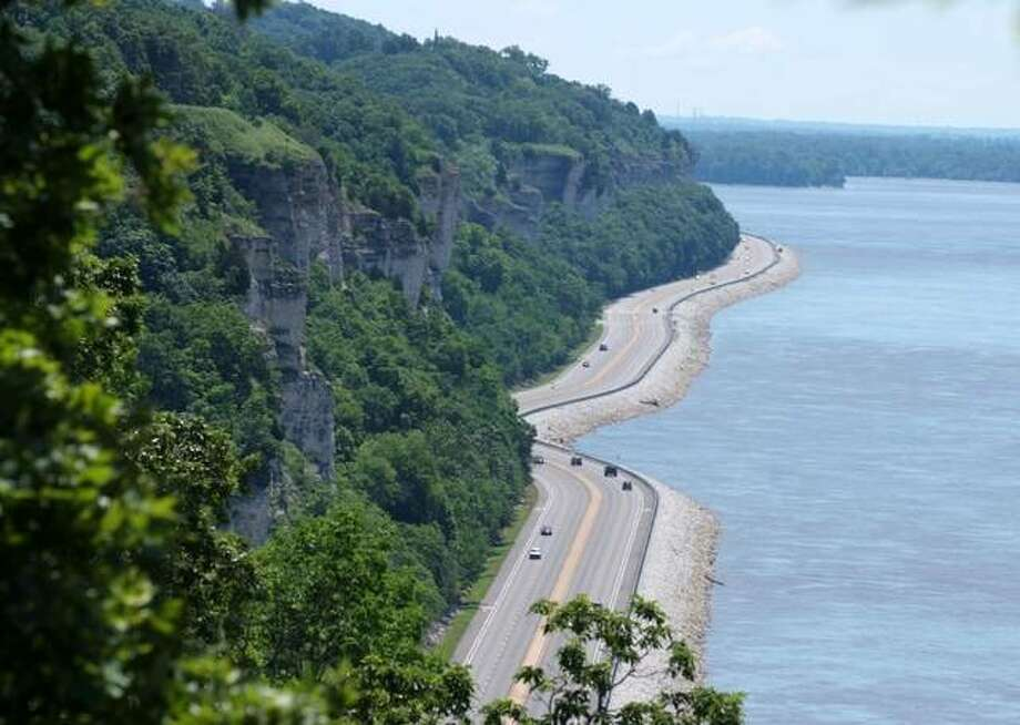 The Great River Road, including the 33-mile Meeting of the Great Rivers National Scenic Byway between Grafton and Hartford, has been designated an All-American Road by the Federal Highway Administration.
