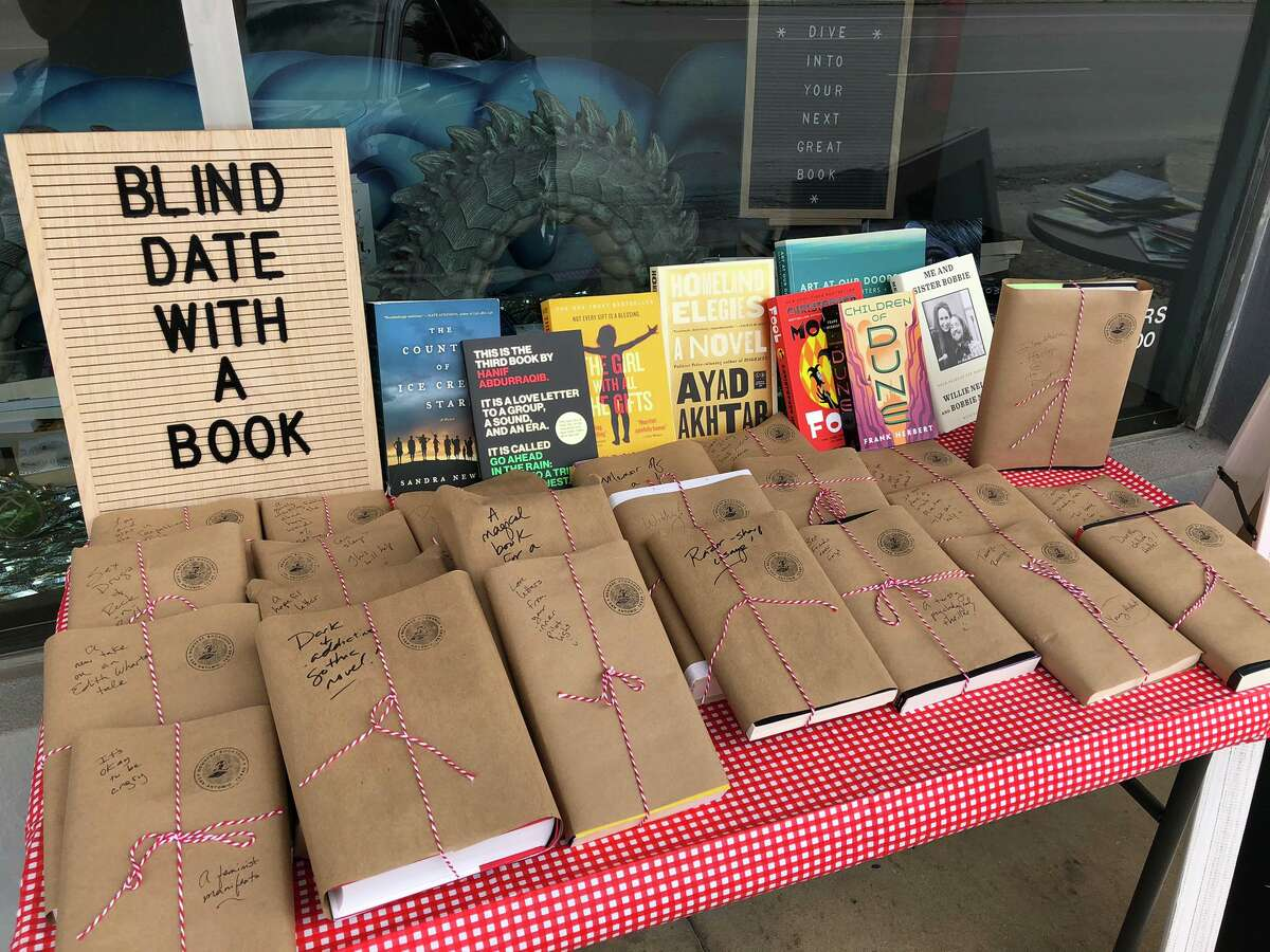 The New York Times bestselling author and San Antonian Jenny Lawson gave away more than 100 free books from her Alamo Height's bookstore, Nowhere. The writer revealed in her blog, The Bloggess, she planned to do a blind-date-with-a-book event on Valentine's Day.