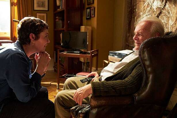 """Olivia Colman and Anthony Hopkins star in """"The Father."""""""