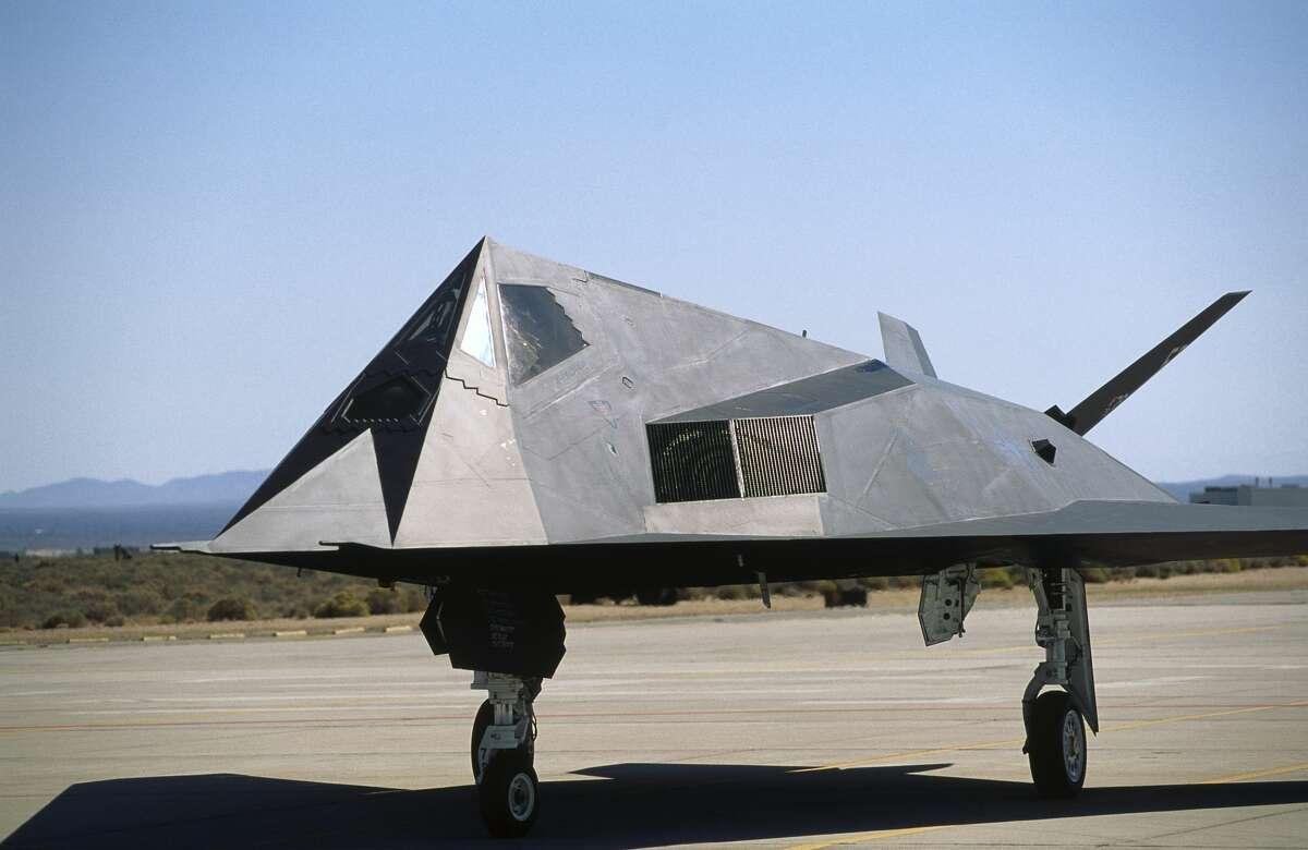 FILE: A Lockheed Martin F-117A Nighthawk on display at the 1997 Edward AFB open house.