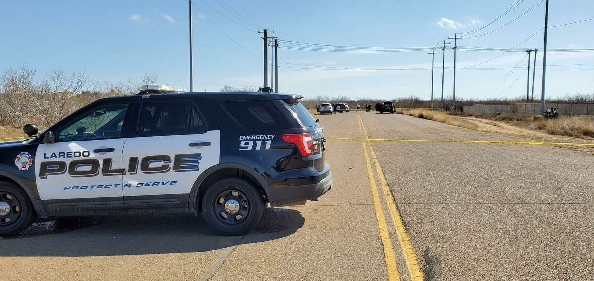 Laredo police closed off an area where Clark Boulevard ends, east of Loop 20 where a body was found. An investigation is underway.