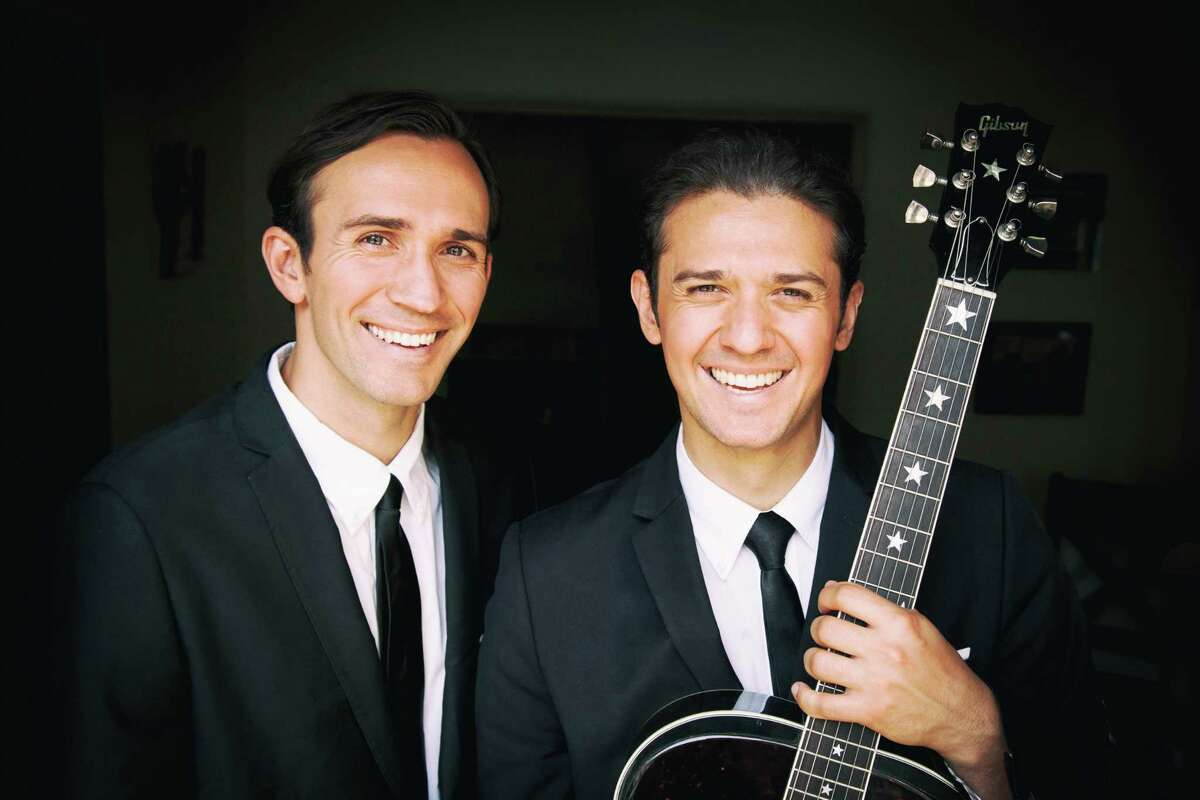 The Zmed Brothers will perform as The Everly Brothers during a tribute concert at 8 p.m. on Feb. 26 at Main Street Crossing in Tomball.