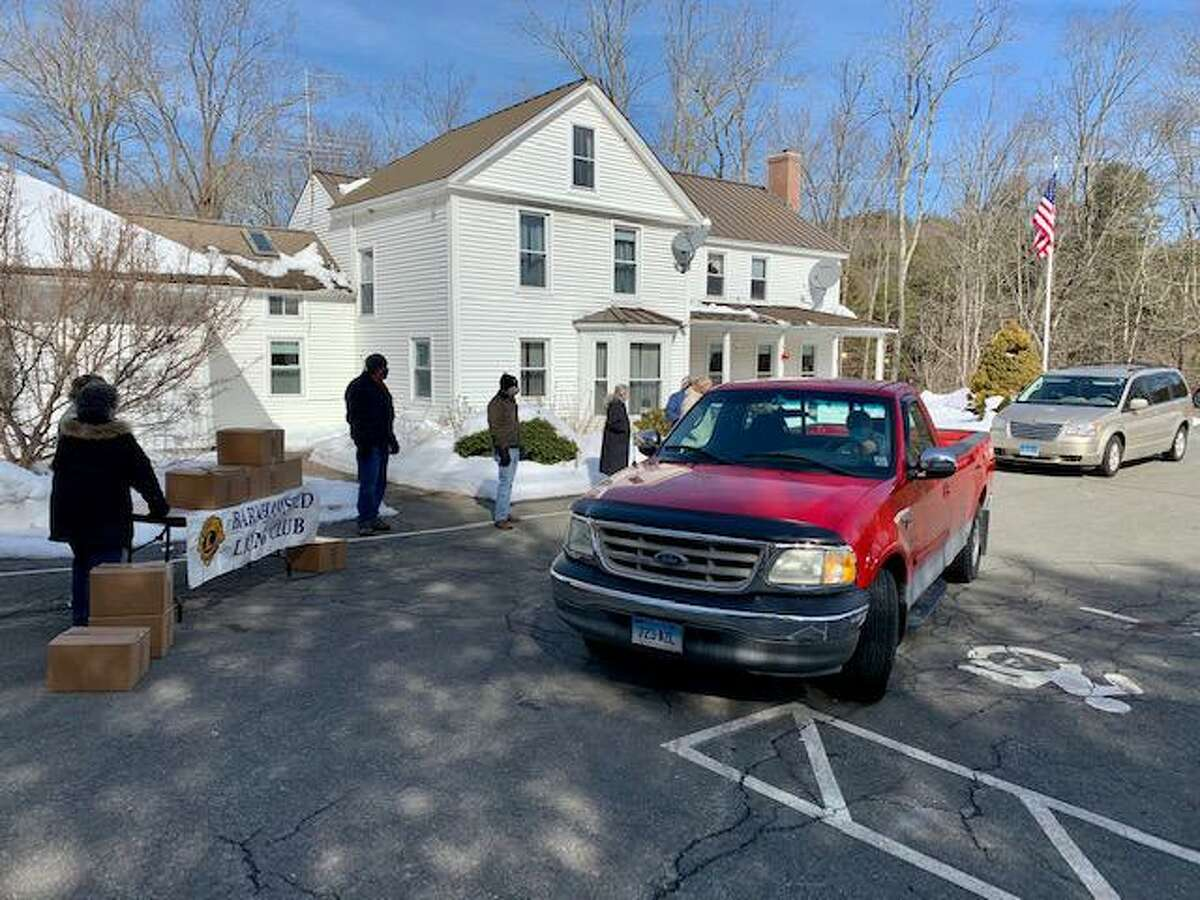 The Town of Barkhamsted recently completed their seventh food box distribution event under the leadership of First Selectman Don Stein.