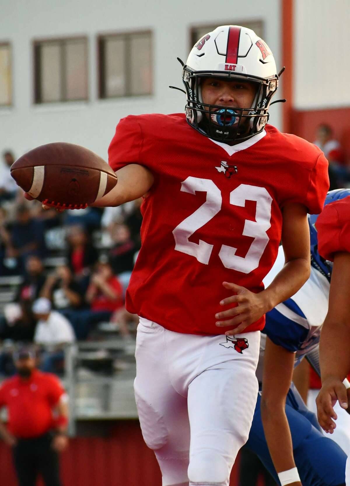 Lockney's Anson Rendon was named a second team All-State running back in Class 2A by the Texas Sports Writers Association.