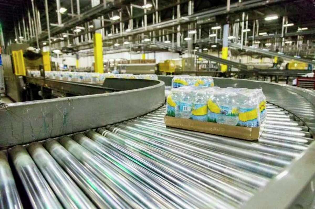 The Ice Mountain water bottling facility in Stanwood, part of the Nestle Water North America, is expected to continue with business as usual following the announcement of the sale of the company to be finalized in the Spring. (Pioneer file photo)
