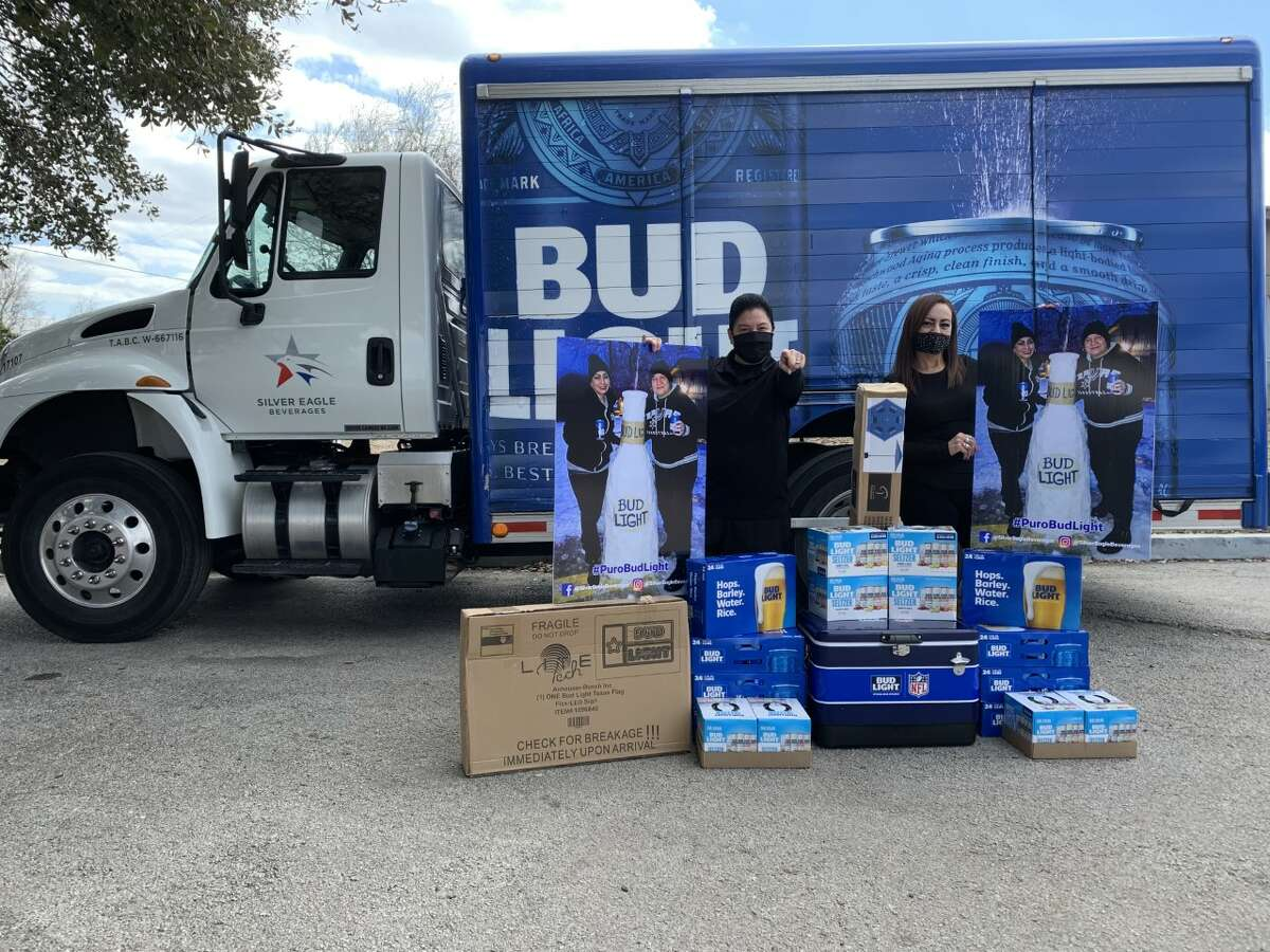 Silver Eagle Beverages, a local distributor of the beer, saw the news and thanked April Perez and her family for being