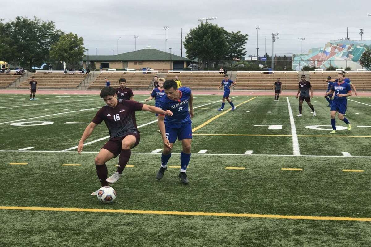 TAMIU allowed a goal just before the buzzer Tuesday as it fell 2-1 in its season opener against UT Permian Basin.