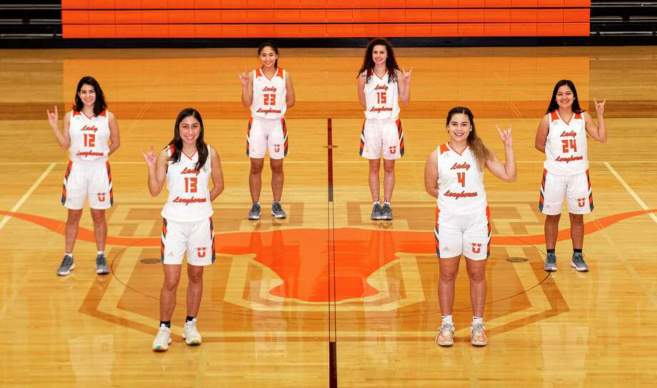 Seniors Kaitlyn Martinez, Elisa Peralta, Julie De La Cruz, Bella Lopez, Evelyn Quiroz and Klarissa Segovia lead United into the third round as the Lady Longhorns face San Antonio Brennan on Wednesday. Photo: Danny Zaragoza / Laredo Morning Times