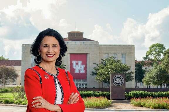University of Houston System Chancellor and UH President Renu Khator