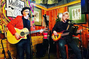The Mad Baileys, a duo made up of Jay Sabo and Greg Hise, perform at The Lodge at The Lovejoy. They play from 7 to 10 p.m. Saturdays.