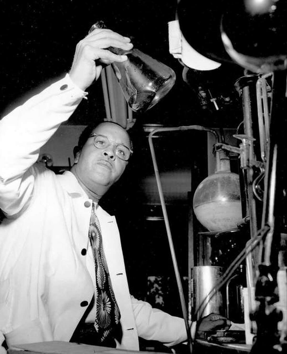 Dr. Percy L. Julian discovered many of our medicines that we depend upon for healthy living.