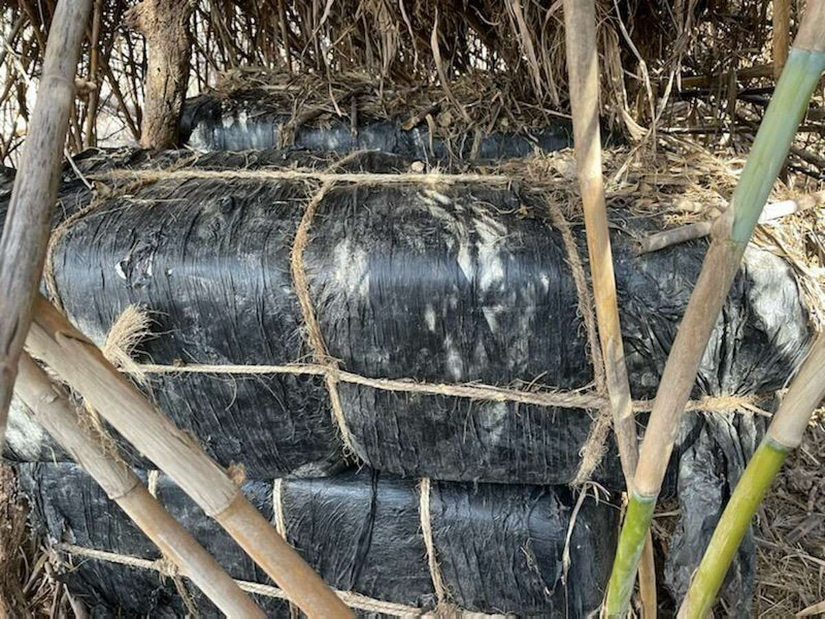 U.S. Border Patrol agents said they seized five bundles of marijuana near the west end of Jefferson Street. The marijuana weighed 488.32 pounds and had an estimated street value of $390,656.