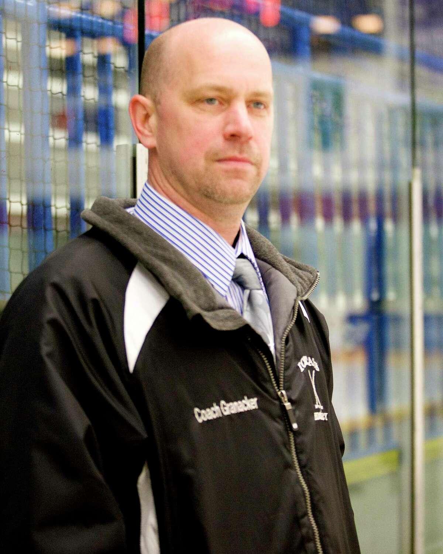 Brookfield/Bethel/Danbury coach Rusty Granacker.