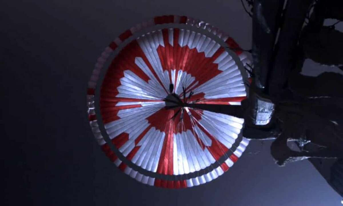 Internet detectives solve secret message NASA hid on the Perseverance rover's parachute that landed on Mars.
