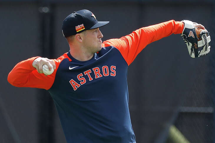 Alex Bregman hasn't participated in infield drills or batting practice the first two days of spring training.