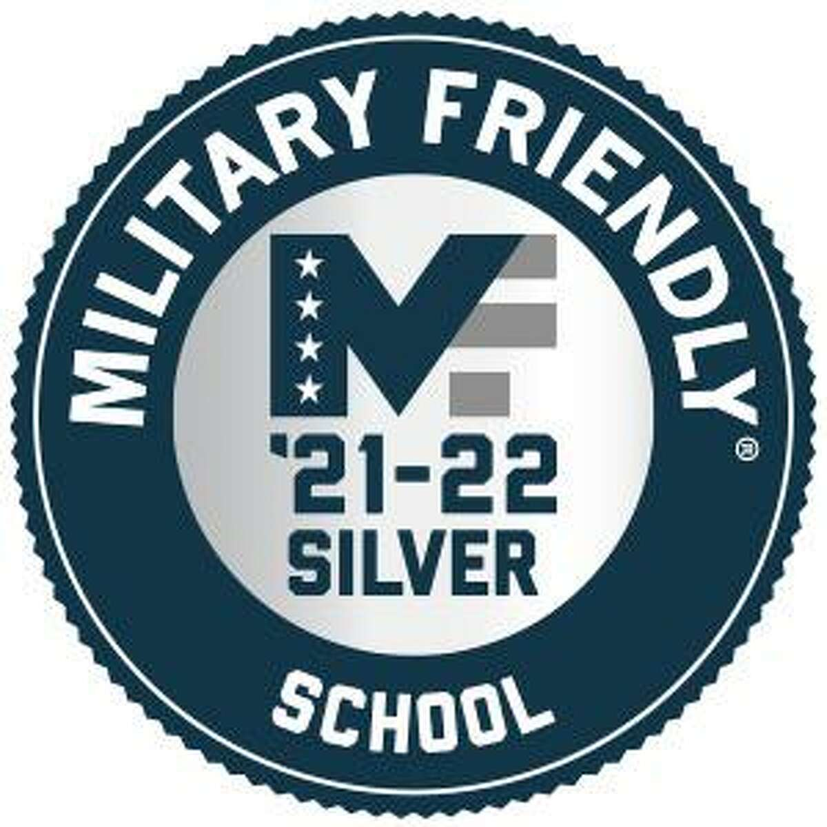 Middlesex Community College has been awarded the 2021-22 Silver Level Military Friendly School designation.