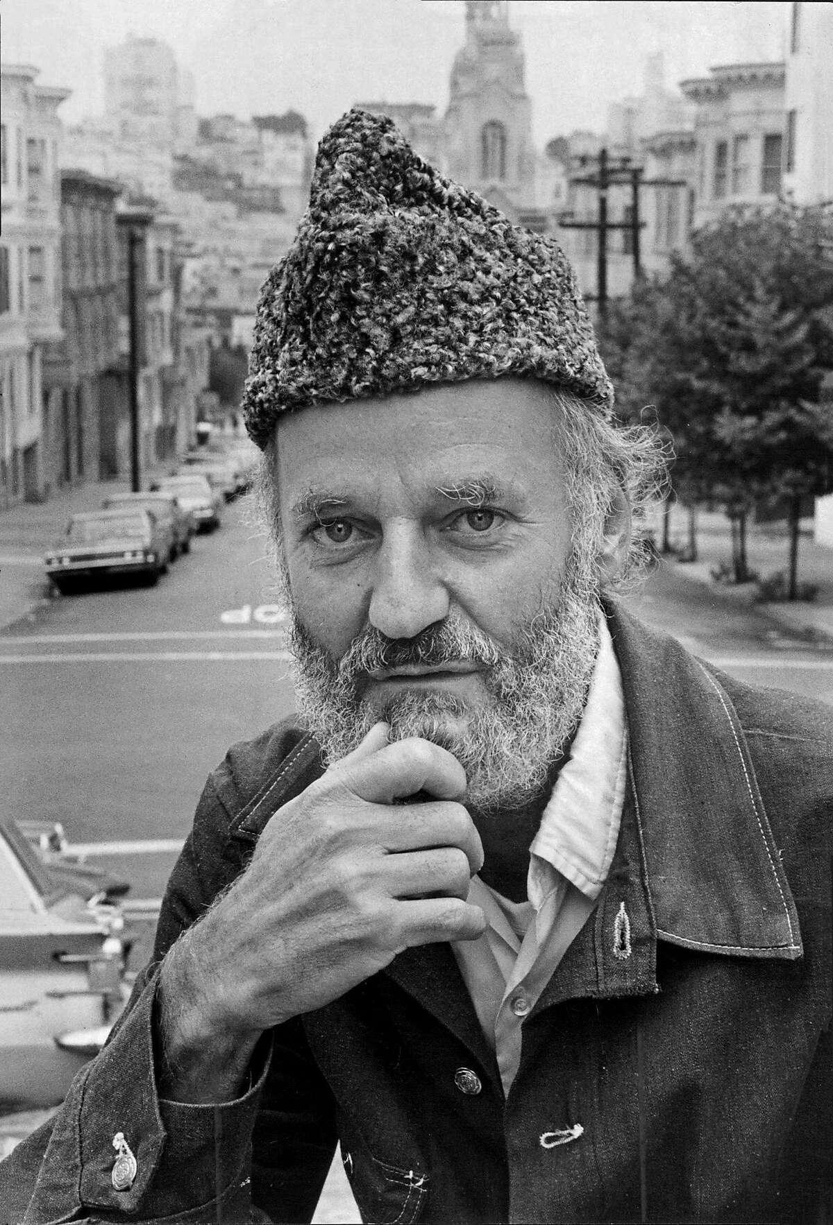 Lawrence Ferlinghetti in 1970