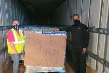Publix was one of many organizations that helped support Southeast Texas Food Bank during Winter Storm Uri. The company specially delivered a semi-load of drinking water to the area.
