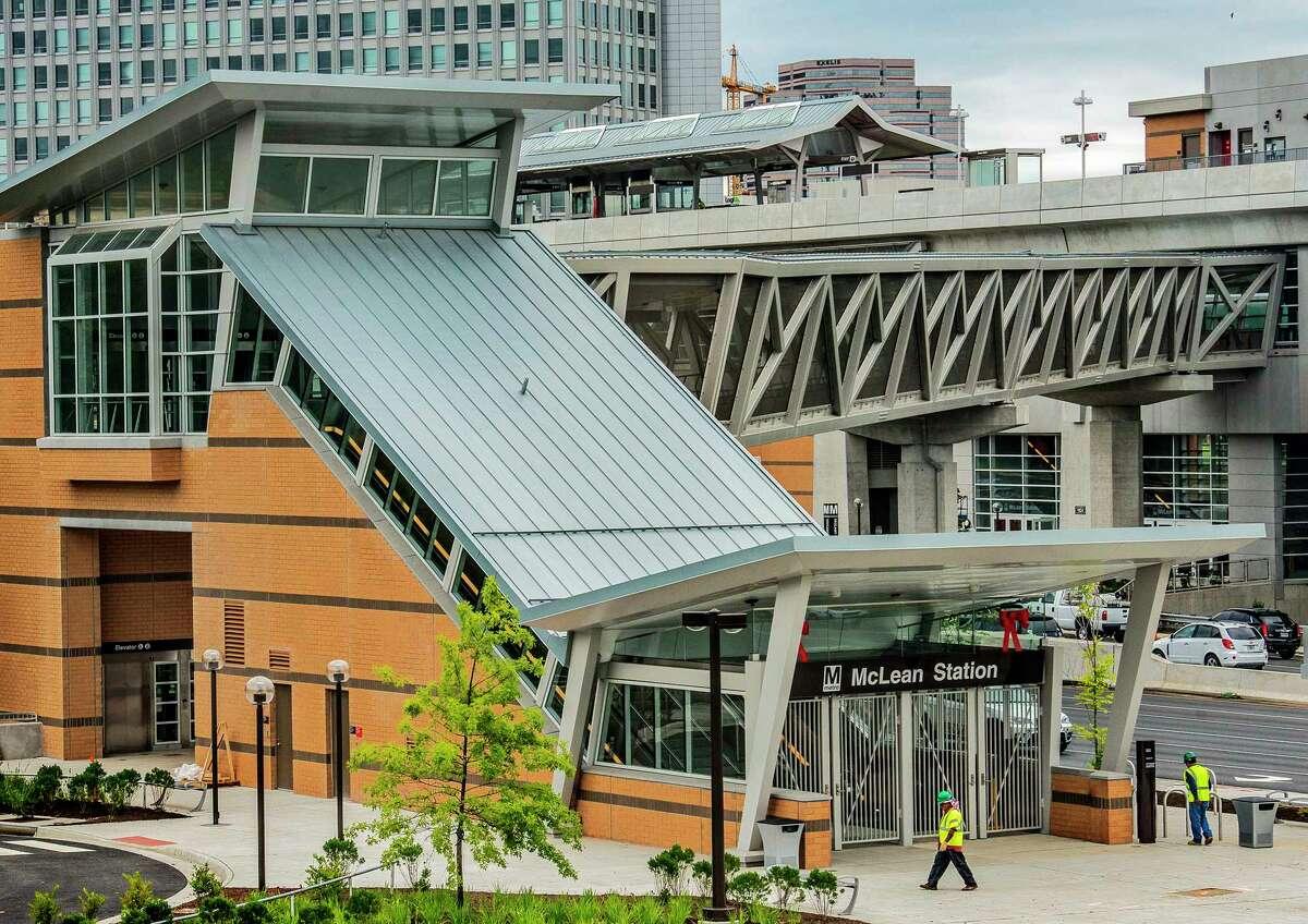 The McLean Metro station in Tysons Corner, Va.