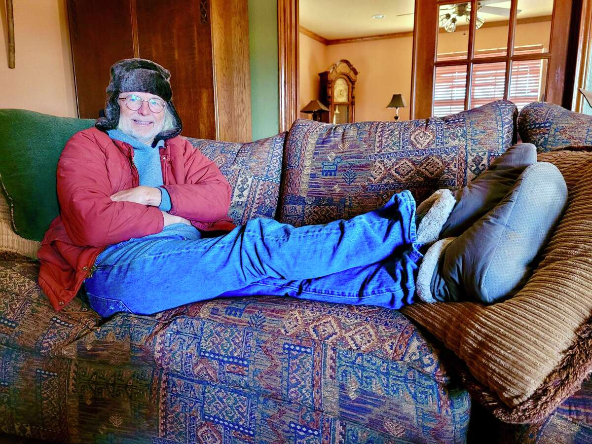 Ray Fuller isn't a slippers guy, but he couldn't pass up the pair he saw about three years ago for $5 at Restoration Hardware. He never wore them until the February 2021 Arctic storms came. They kept his feet warm when temperatures in the house got down to 50 degrees.