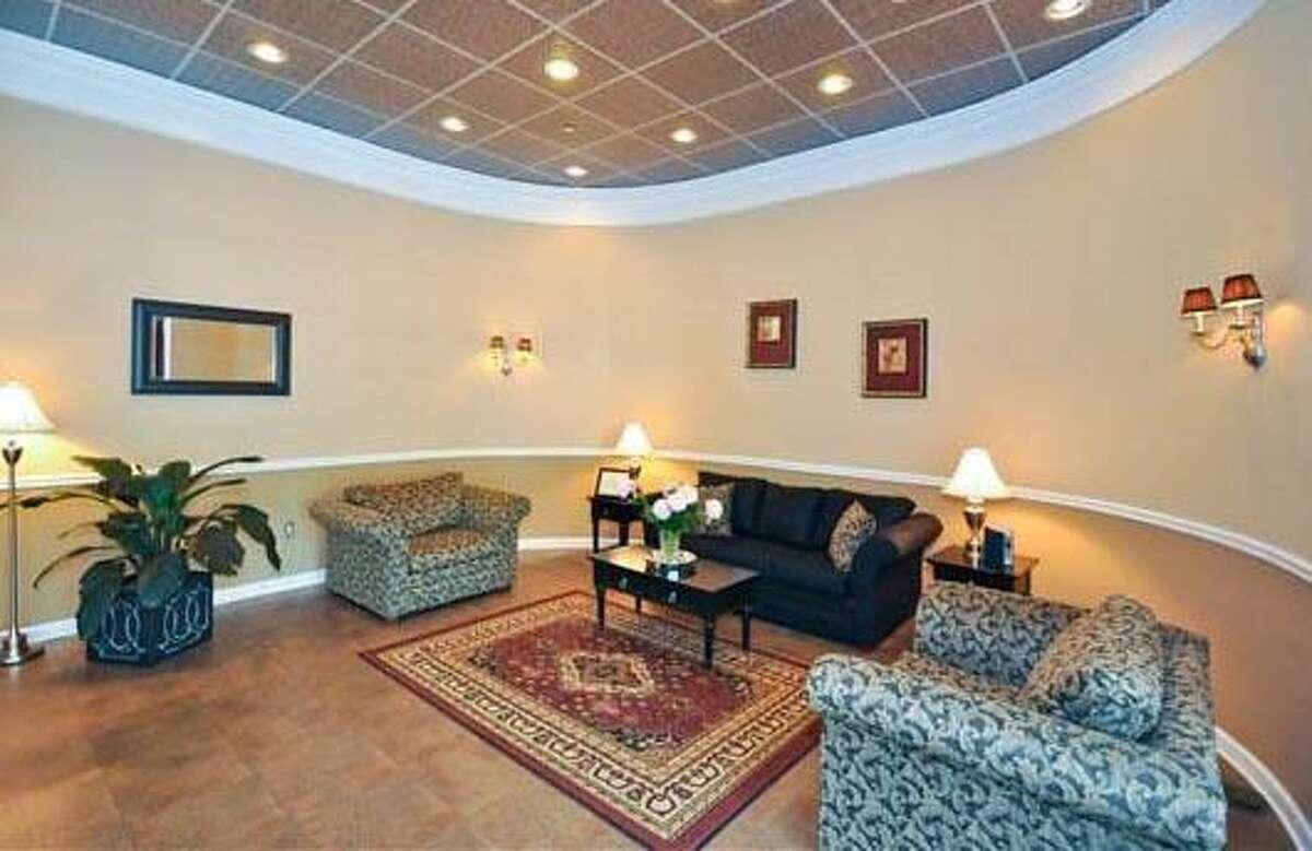 Interior scene from Village Crest Center for Health & Rehabilitation in New Milford.