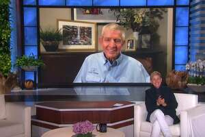 "MATTRESS MACK: Ellen welcomes community hero Jim ""Mattress Mack"" McIngvale from Houston, TX, on ""The Ellen DeGeneres Show"" via video chat airing Wednesday, February 24th."