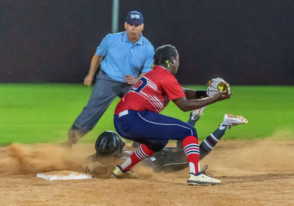 Dawson catcher Olivia Johnson hopes to lead her team to the playoffs this spring.