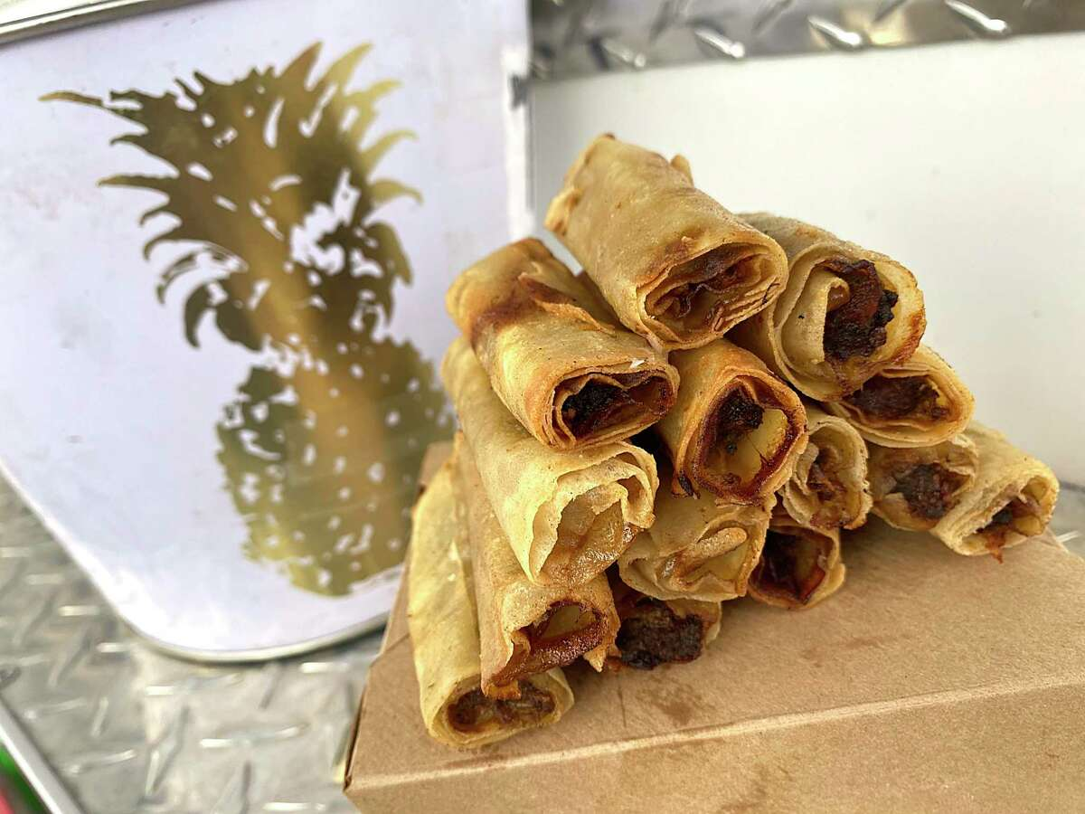 Philippine-style fried lumpia are popular at Christelle's Culinary Corner, operating from a leased trailer on South Union Street in New Braunfels.