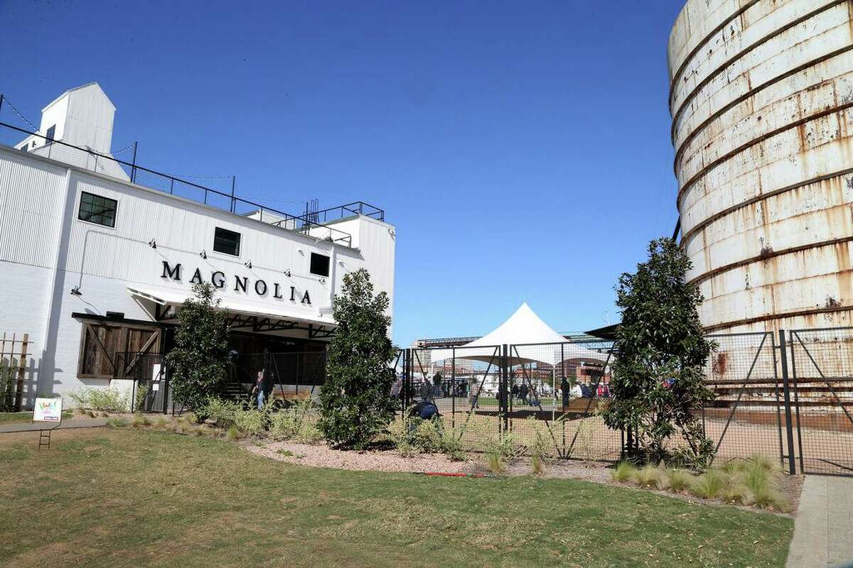 """Chip and Joanna Gaines' Magnolia Market in Waco is a tourist destination for fans of their HGTV home makeover show """"Fixer Upper."""""""