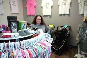 Alyssa Staton recently became the owner of Child's Replay on South Main Street, a children's consignment shop. Staton, a Torrington resident, opened her first consignment shop, The Goody Bag, in August 2020.